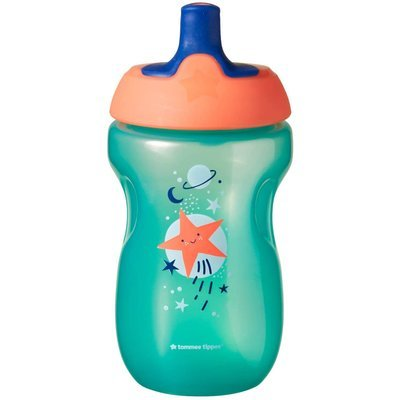 Tommee Tippee 12Months+ 300ml Sports Bottle - Green