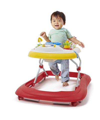 Babylo My First ABC Walker (6m+) - Red/Yellow