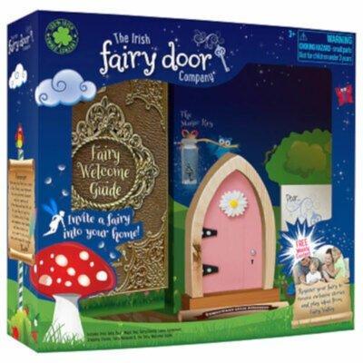 Irish Fairy Door Pink Arched