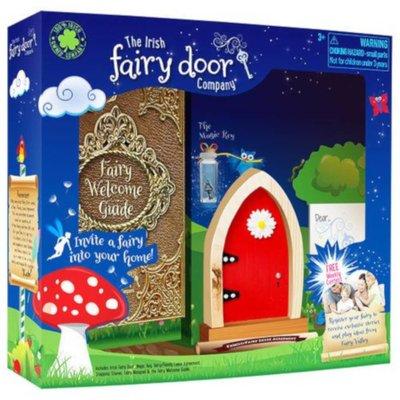 Irish Fairy Door Red Arched - Default