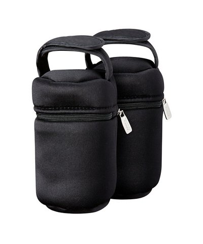 Tommee Tippee thermal Bag 2 Pack - Black