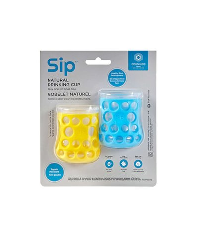 Cognikids Sip Natural Drinking Cup - Sunshine/Sky