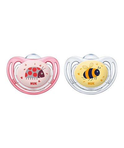 Nuk Freestyle Soothers - 6-18 Months