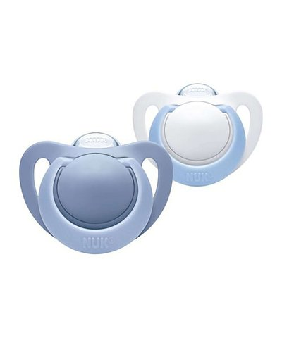NUK Genius Silicone Soother blue 0-6 Months