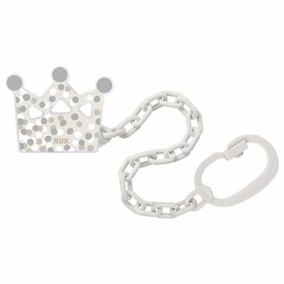NUK Soother Chain - Grey