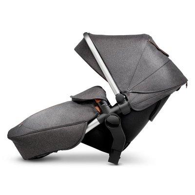 Silver Cross Wave Tandem Seat - Granite