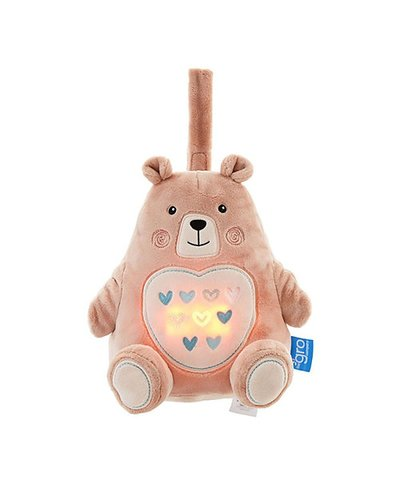 Grofriend Bennie The Bear - Light and Sound Sleep Aid