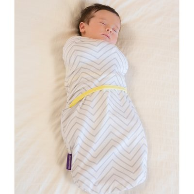 Clevamama Swaddle to Sleep 0-3 Months - Grey - Default