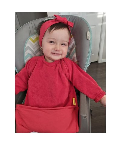 BabyBoo YummyBoo Feeding Bib - Red