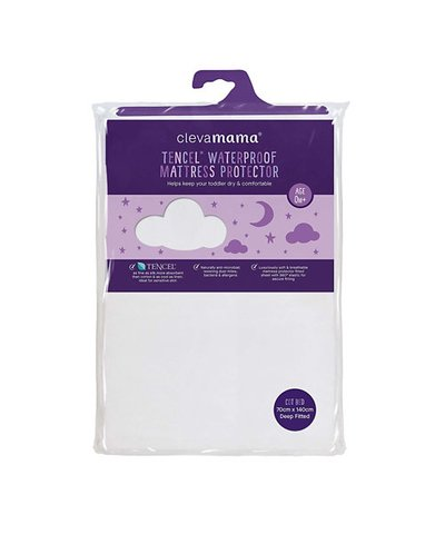 Clevamama Clevabed Cot Bed Mattress Protector - 140cm x 70cm