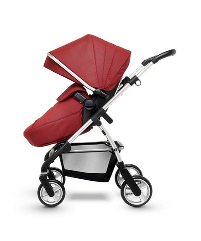 Silver Cross Pursuit Pram and Pushchair - Brick