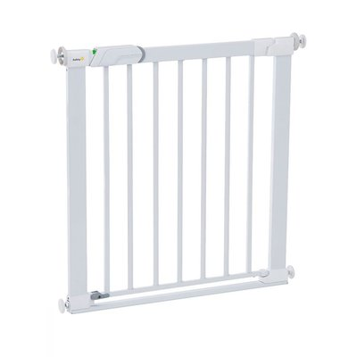 Safety 1st Flat Step Metal Gate - White
