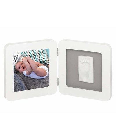 My Baby Touch Rounded Single Print White Frame