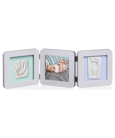 My Baby Touch Rounded Double Print Frame