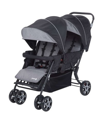 Safety 1st Teamy Tandem Pushchair - Black Chic