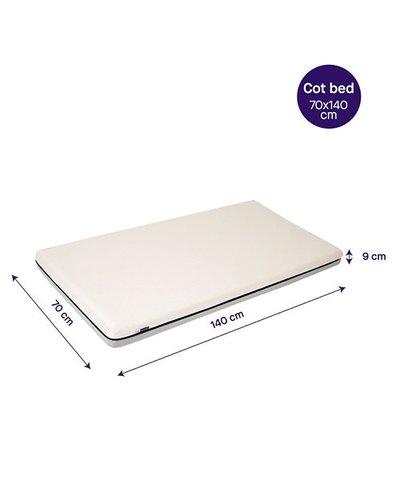 Clevamama Clevafoam Mattress Cot Bed Mattress - 140CM x 70CM