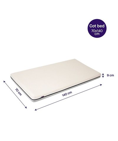 Clevamama Clevafoam Mattress Cot Bed Mattress - 140CM x 70CM