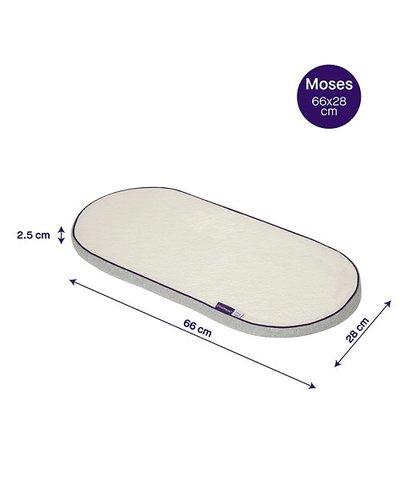 Clevamama Clevafoam Moses Basket/Pram Mattress - 66x28cm