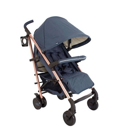 My Babiie Billie Faiers MB51 Stroller - Rose Gold Navy