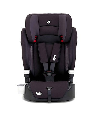 Joie Elevate Group 1/2/3 Deluxe Padded High Back Booster Car Seat - Two Tone Black