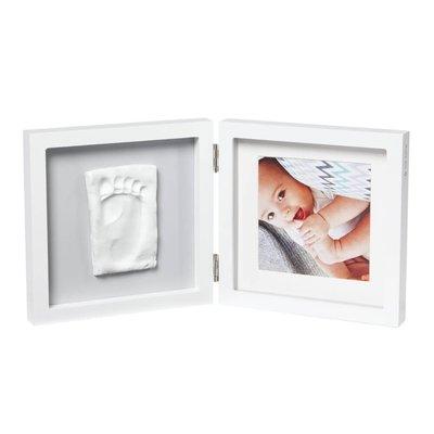Babyart Single Print Frame White and Grey