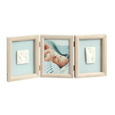 Baby Touch Double Wooden Frame