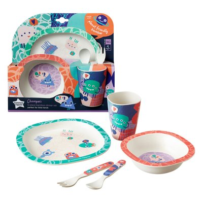 Tommee Tippee Bamboo 5 Piece Dinner Set
