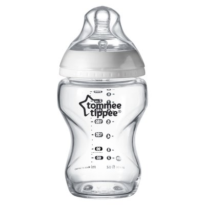 Tommee Tippee 250ml Closer to Nature Glass Bottle