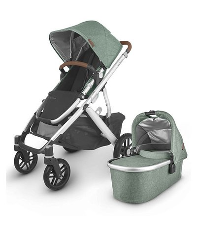 Uppababy Vista V2 Pushchair - Emmett Green Melange