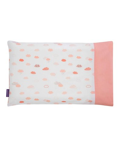 Clevamam Pram Pillow Case - Coral
