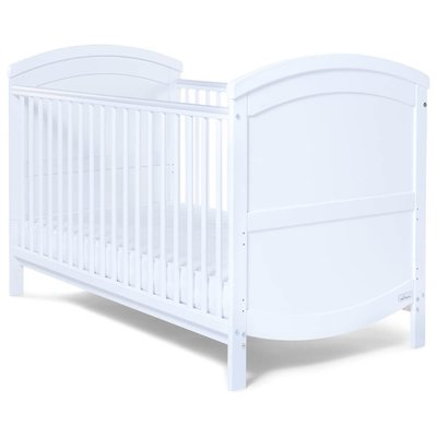 Baby Elegance Walt Cot Bed – White