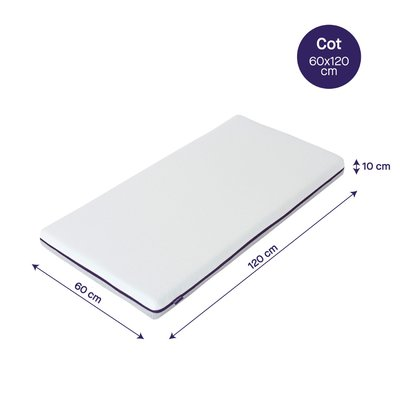Clevamama Cot Cool Gel Mattress 120x60CM