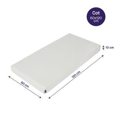 ClevaMama Anti-Allergy Cot Mattress 120X60CM