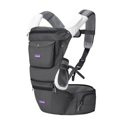 Clevamama Hip Healthy Baby Carrier - Grey - Default