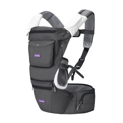 Clevamama Hip Healthy Baby Carrier - Grey
