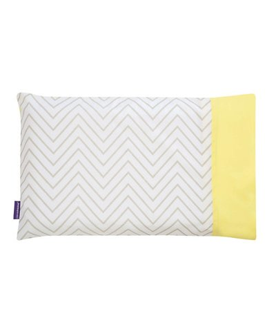 Clevamama Clevafoam Pram Pillow Case - Grey
