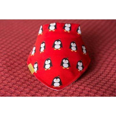 BabyBoo Pingu Penguins Organic Cotton Bandana Bib