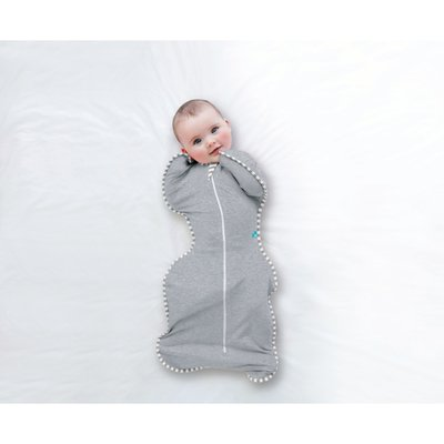 Love to Dream Small Stage 1 Swaddle Up 1 Tog - Grey - Default