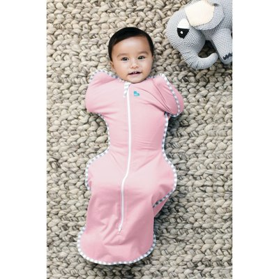 Love to Dream Medium Stage 1 Swaddle Up 1 Tog - Pink