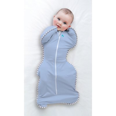 Love to Dream Medium Stage 1 Swaddle Up 1 Tog - Blue