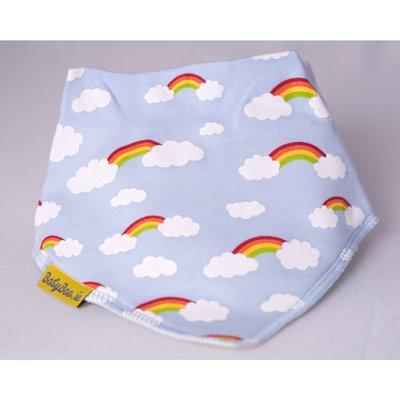 Babyboo DribbleBoo Bandana Bib - Rainbow Clouds