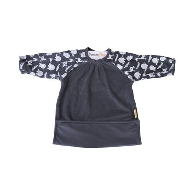 BabyBoo Yummyboo Feeding Bib - Grey Jungle