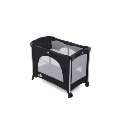 Joie Kubbie Travel Cot - Coal - Default