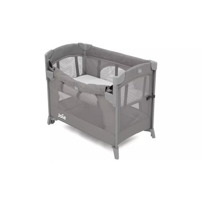 Joie Kubbie Sleep Travel Cot - Foggy Grey - Default