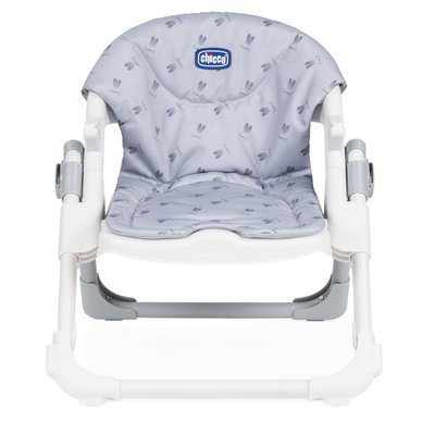 Chicco Chairy Booster Seat - Grey Bunny