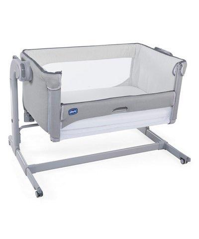 Chicco Next 2 Me Magic Side Sleeping Crib - Cool Grey