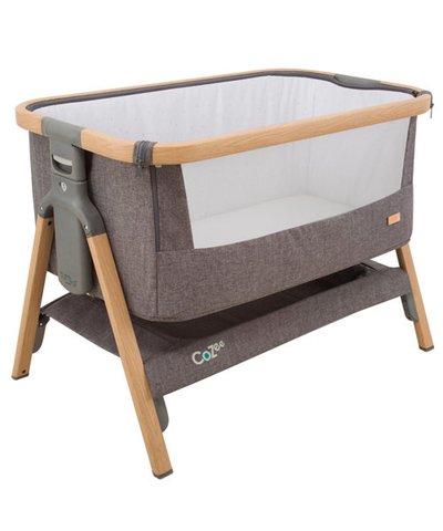 Tutti Bambini CoZee Bedside Crib - Charcoal