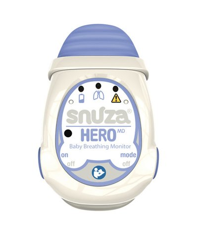Snuza Hero MD Medically Approved Portable Baby Breathing Monitor