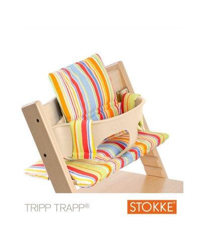 Stokke Tripp Trapp Highchair Cushion - Art Stripe