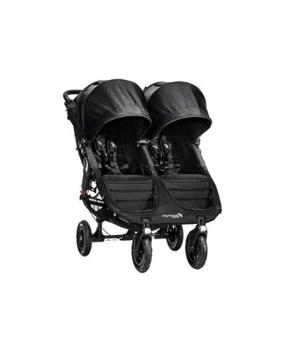 Baby Jogger City Mini GT Double Pushchair Black